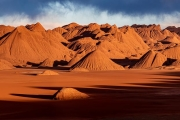 sunset, Desierto del Laberinto