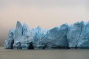 fog, Grey Glacier