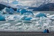 icebergs, Lago Grey