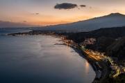 Mt Etna, Bay of Naxos
