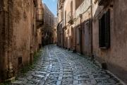 inlaid stone streets, Erice