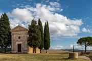 Vitaleta Chapel, San Quirico d'Orcia