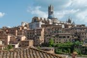 residences and Duomo, Siena