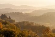 sunrise, Sarteano