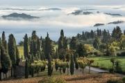 morning fog, Sarteano