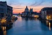 early morning on the Grand Canal