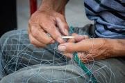 mending nets, Burano