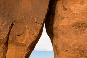 Teardrop Arch, Monument Valley
