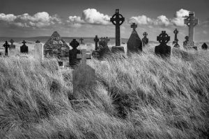 Killeany Cemetery, Aran Islands, Ireland